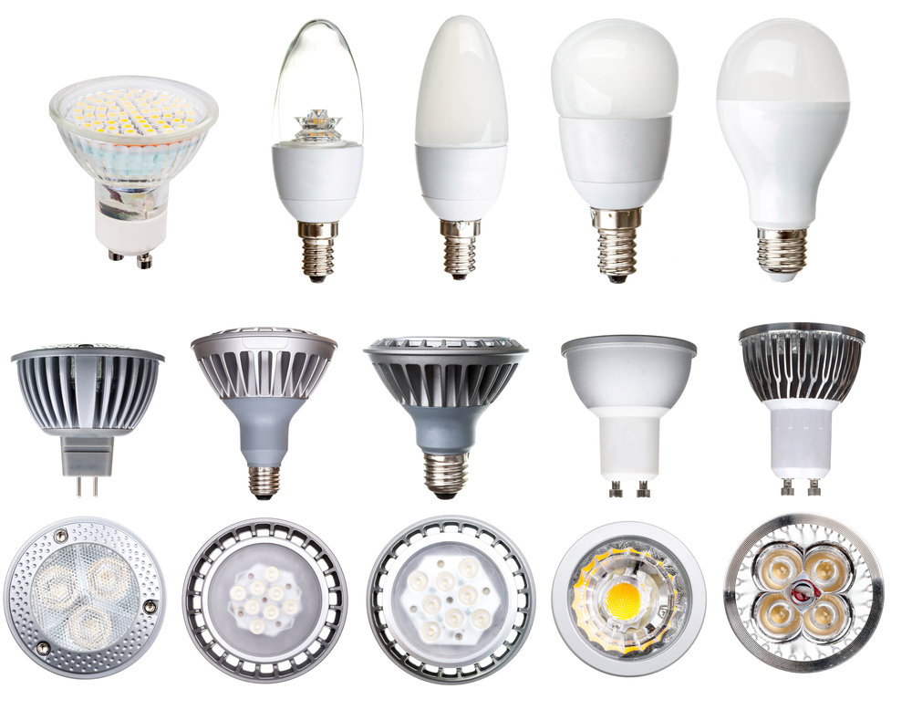 different kinds of led bulbs